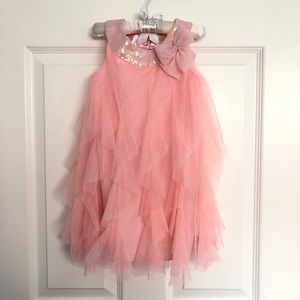 Pink Fluffy / Tulle Dress